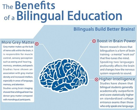 the advantages of bilingual education in School districts, seeing the benefits bilingual education offers to their students, are also actively fighting for these programs bilingual advantage.